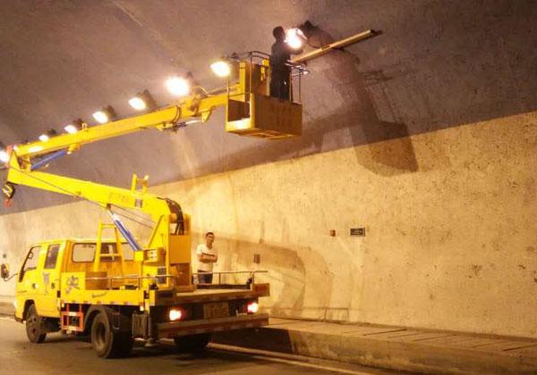 隧道照明安装-重庆高空作业车租赁