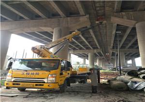 桥底安装施工